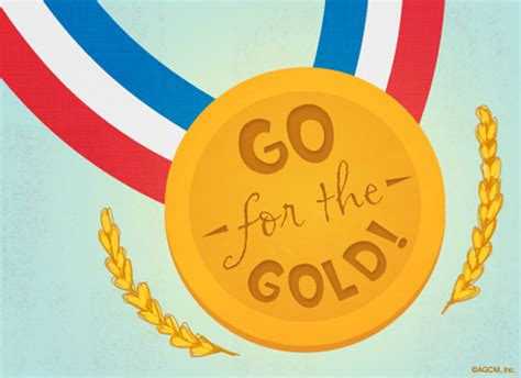 Goes For The Gold by Go For The Gold Thinking Of You Ecard American Greetings