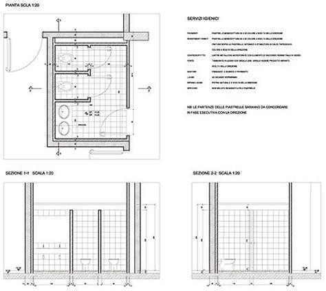 dimensioni minime bagni pubblici servizi igienici per il pubblico 3