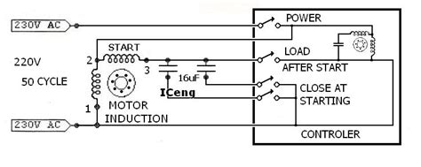 single phase schematic get free image about wiring diagram
