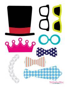 Template Photo Booth Props by Free Printables Photo Booth Props Ideas Big Dot Of