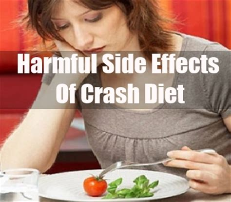 7 Reasons Why A Crash Diet Is A Bad Idea by Side Effects Of Crash Diets How To Lose Weight Through