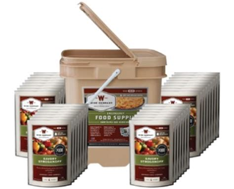 25 Year Shelf Food by New Survival Food Supply Kit Of 25 Year Shelf
