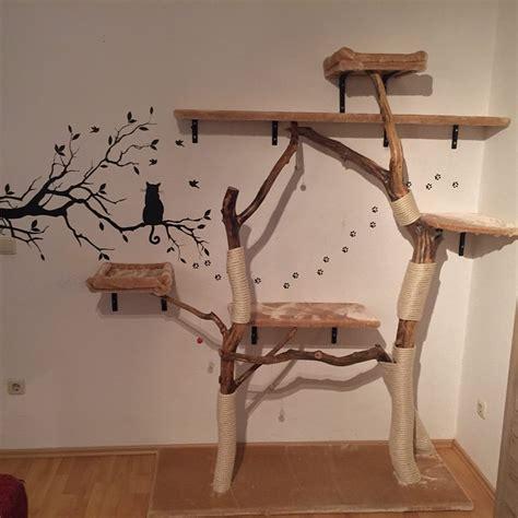 holztür selber bauen diy naturkratzbaum selber bauen katzenblog de