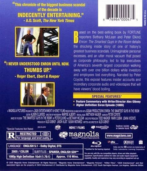 enron the smartest guys in the room summary enron the smartest guys in the room new ebay