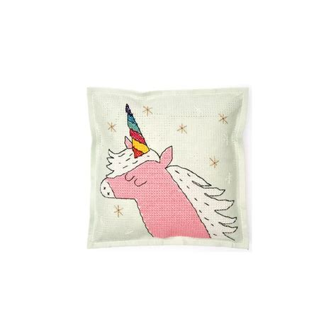 rico design embroidery kits embroidery kit rico design cushion unicorn