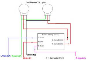 trailer light wiring diagram simple electric trailer brake wiring diagrams wiring diagrams