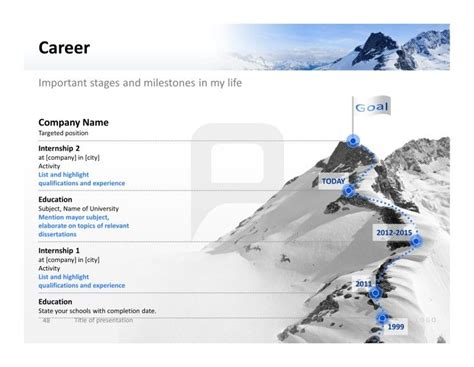 Leadership Examples For Resume by 177 Best Powerpoint Templates Images On Pinterest Role