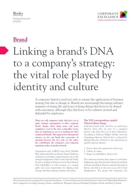 187 organizational culture s role in facebook s success linking a brand 180 s dna to a companys strategy the role