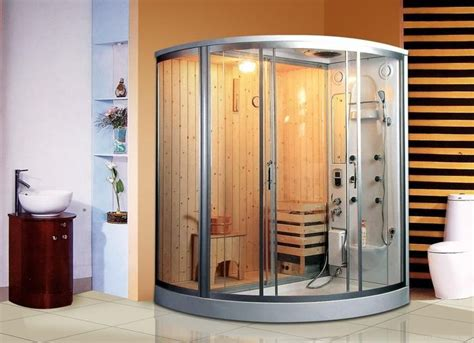 Bathroom Sauna Showers Steam Sauna Kits Build Home Now All The Steam Relaxing Whirlpool Uses Diy Den