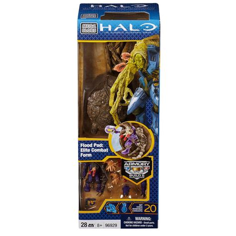 Mega Bloks Halo Flood Pod Elite Combat Form mega bloks halo flood pod elite combat form images at