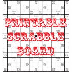 scrabble template printable artist loft diy printable scrabble board