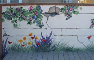 Outdoor Wall Mural Stencils and commercial murals mural photos in san diego california