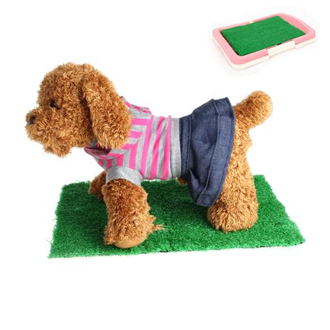 potty a new puppy new indoor potty synthetic grass pads for pet cat puppy restroom