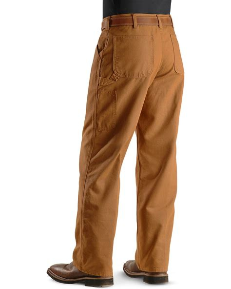 khakis and boots carhartt weathered duck dungaree fit khaki work