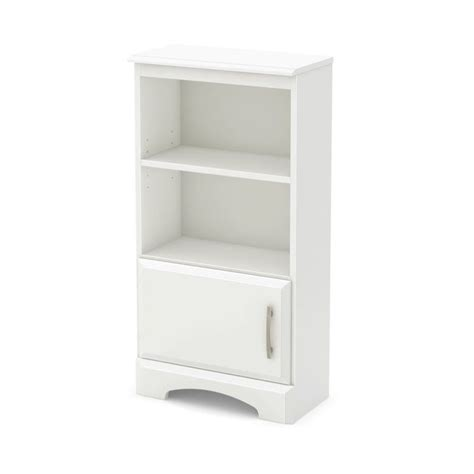 bookshelf nightstand south shore callesto bookcase nightstand in