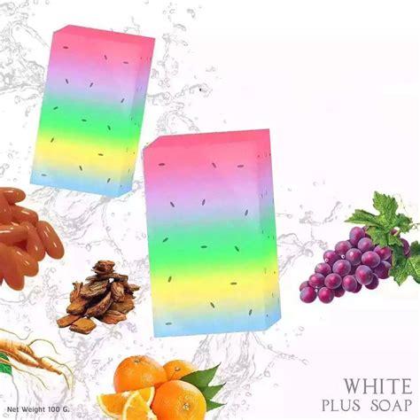 Sabun Fruity 10 In 1 Rainbow Soap Terdaftar Di Bpom 1 handmade rainbow soap skin fruit essential soap whiten moisturizing in soap from