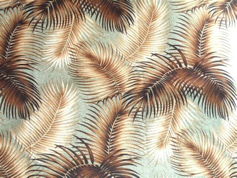 Upholstery Fabric Tropical by Hawaiian Tropical 100 Cotton Barkcloth Upholstery Fabric