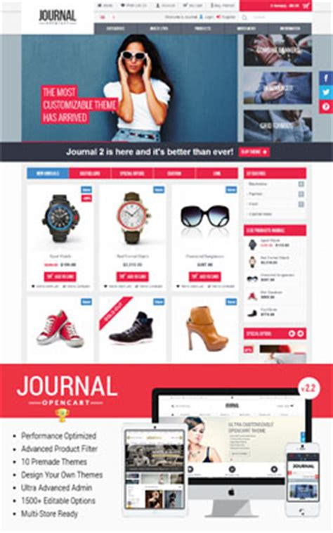 journal opencart template 16 top best premium opencart themes and templates