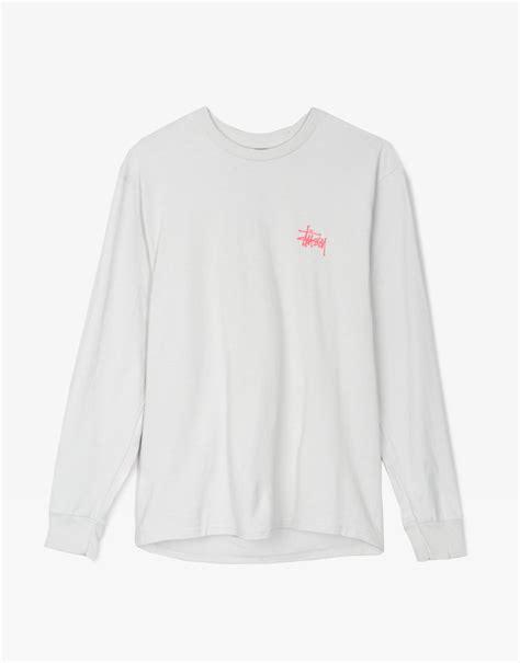 Sweater Basic Sleeve Sweatee Stussy stussy basic sleeve fog shop stussy at ontheblock