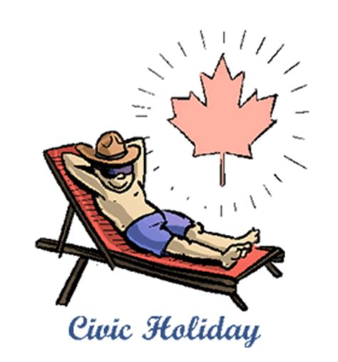 civic holiday: calendar, history, facts, when is date
