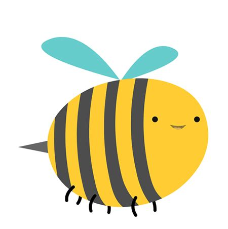 clipart gifs bee gif clipart best