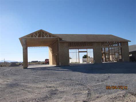 small homes with rv garages custom rv garage plans spec rv garage shadow mountain construction