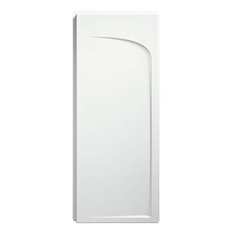 bathroom wall panels lowes shop sterling ensemble white vikrell shower wall surround