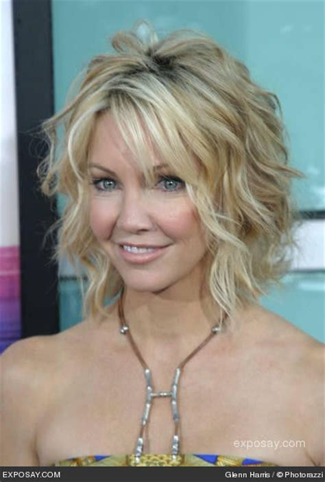 beach wave haircuts with bangs photos heather locklear beach waves hair and makeup looks