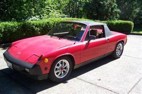 porsche 914 electric 1975 porsche 914 electric vehicle conversion german cars