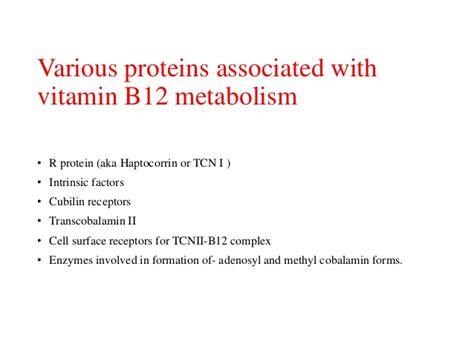 r protein cobalamin vitamin b12