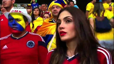 el mundial hermosa mujer en el mundial de brasil 2014