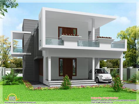 3 bedroom modern flat roof house layout kerala home design modern 3 bedroom home design 2000 sq ft kerala home design and floor plans