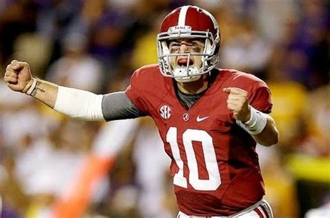 top 10 alabama quarterbacks of all time | fueled by sports