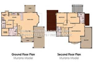 floor plans for 2 story houses in the philippines