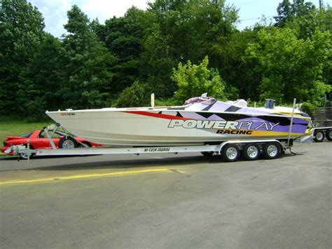 hi tech aluminum boat trailers aluminum i beam boat trailers for sale at wholesale prices