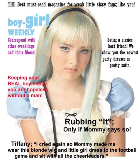 boy becomes sissy girl captions pinterest the world s catalog of ideas