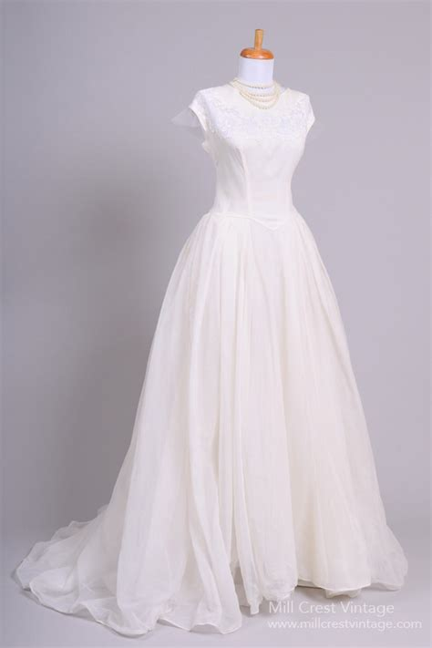 vintage 1950s wedding dresses beautiful authentic vintage 1950s wedding dresses chic