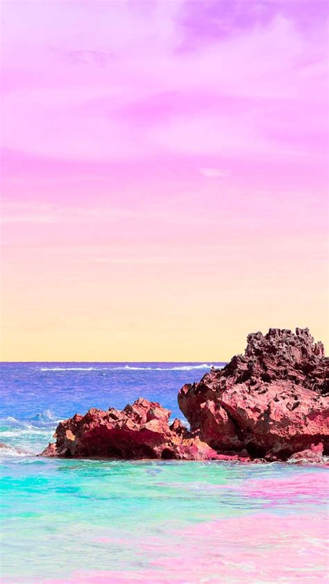 matt crump photography iphone wallpaper pastel bermuda beach ocean wallpapers pastel iphone