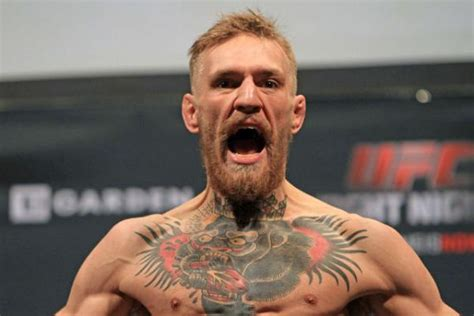 biography of conor mcgregor conor quot notorious quot mcgregor mma stats pictures news