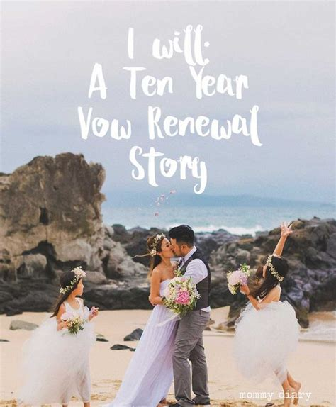 Wedding Anniversary Ideas In Hawaii by I Will Ten Year Vow Renewal In Vow Renewals