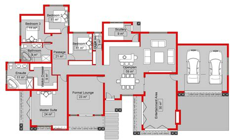 my house blueprints my house plan home design