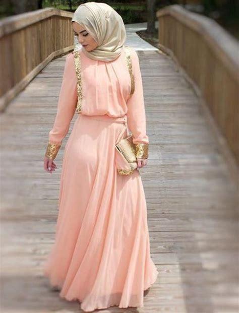 Baju Pesta Muslim Anggun 8 model baju muslim untuk pesta pernikahan tercantik