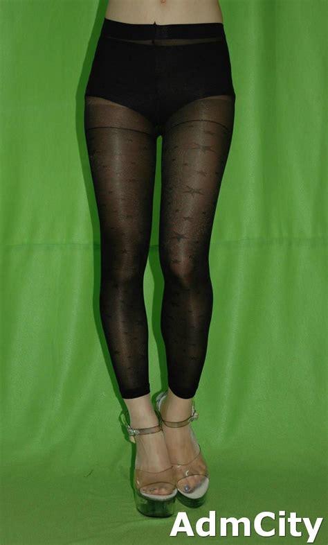 patterned footless tights uk admcity spandex sheer footless tights footless pantyhose