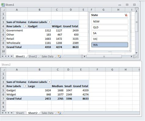 excel slicer layout slice and dice in excel a4 accounting