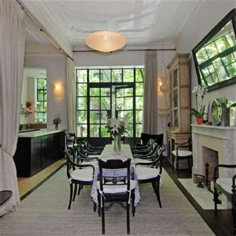 celebrity home interior inside uma thurman s manhattan rowhouse stately
