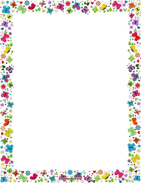 free spring borders cliparts co
