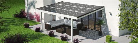 Haus 9m Breit by Terrassen 252 Berdachung Mit Solar Verschattung