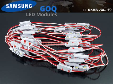 Lu Led Samsung Goq lumines goq samsung led modul 5630x2 150 176 ip68 3200k 5 201 v 193 r 299 ft led modul