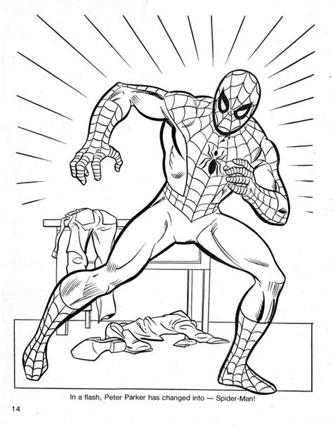 spider man s christmas coloring book andertoons cartoon blog