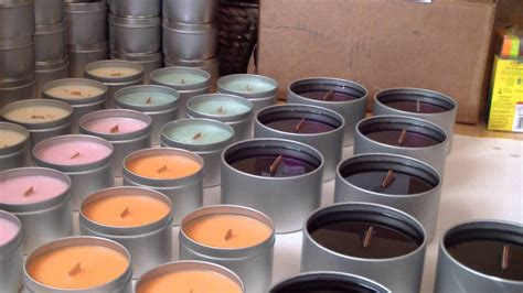 how to make a candle wick making candles wooden wick soy candles youtube